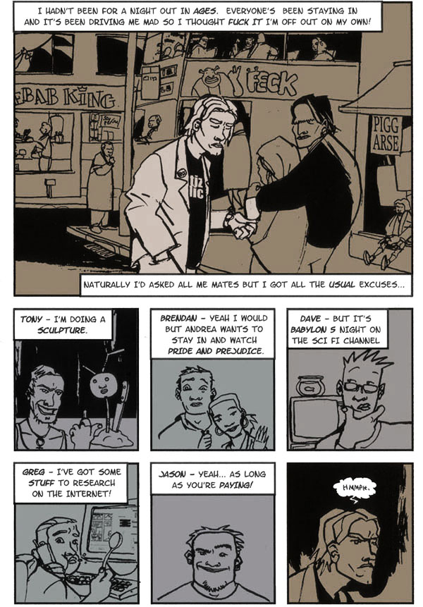 Lee Simmons and The Rock Club of The Damned Page 1