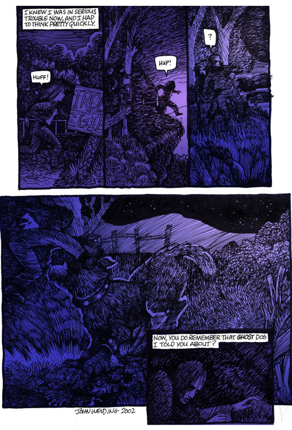 Stones, Holes & Dogs Page 10