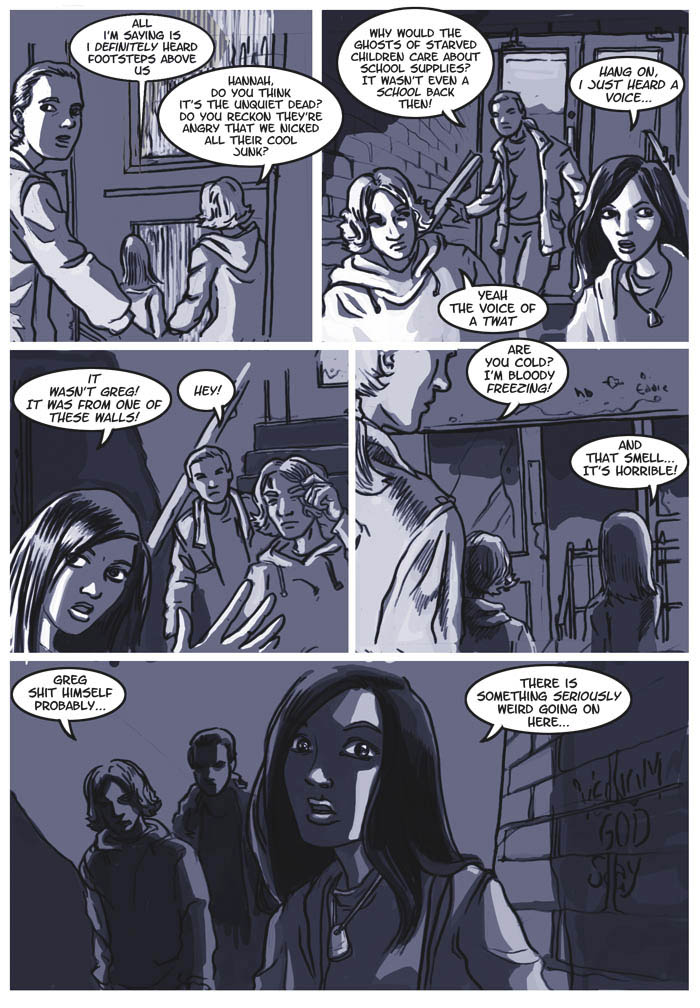 Old School page 11