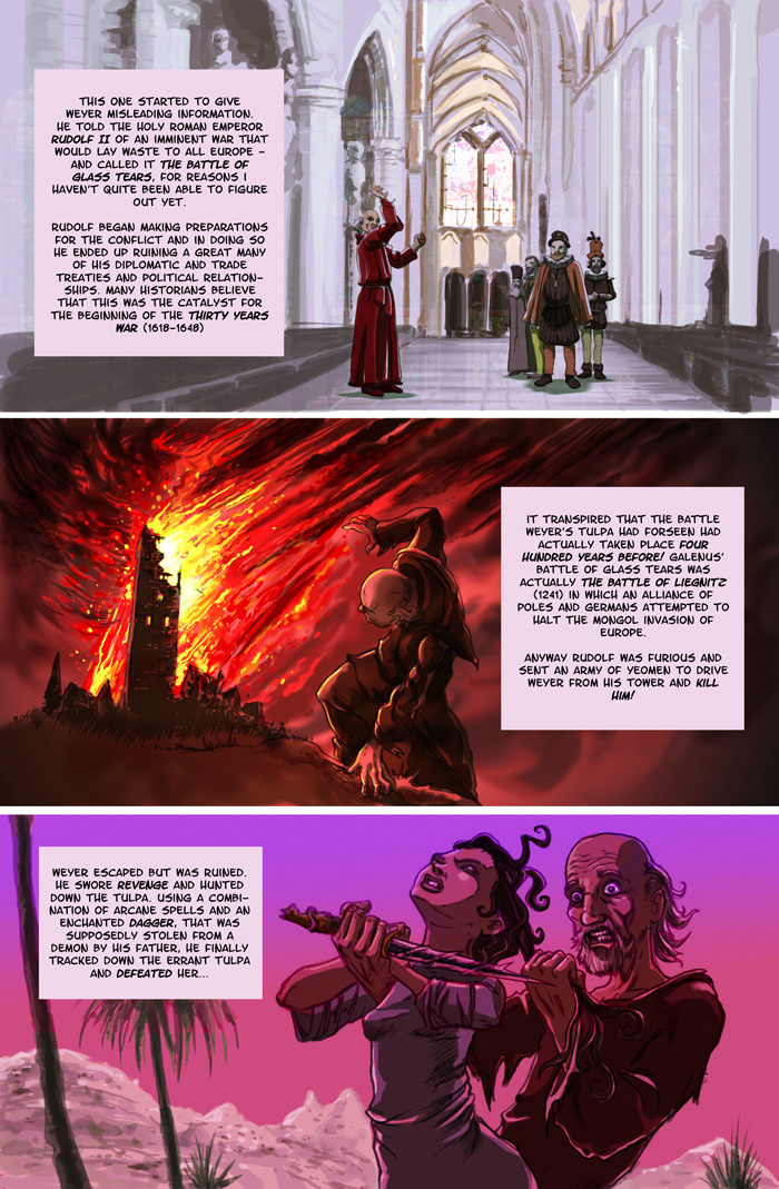 The Strange Tale Of Galenus Weyer page 3