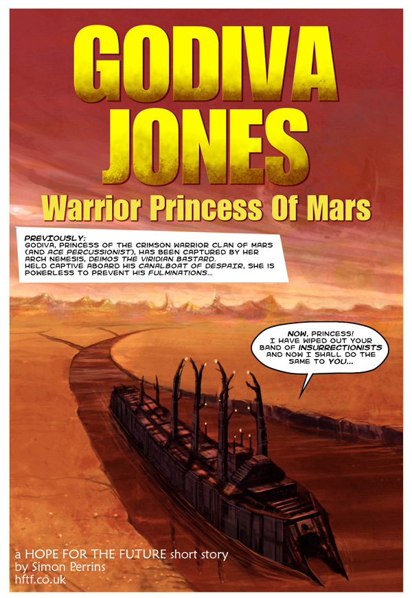 Godiva Jones: Warrior Princess of Mars page 1