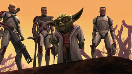 Yoda plus homies
