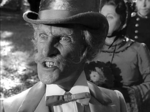 """I'm only a poor old man, 'arold"" Wilfred Brambell as The White Rabbit in Jonathan Miller's Alice"