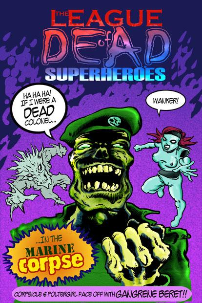 League of Dead Superheroes