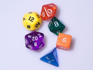 I am disproportionately excited by pictures of dice
